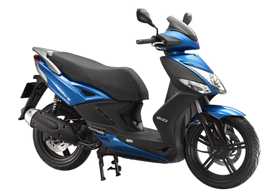 Rent a Kymco Agility in Corfu